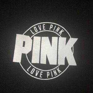 PINK Victoria's Secret Tops - Victoria Secret PINK Varsity Crew Sweatshirt Multi